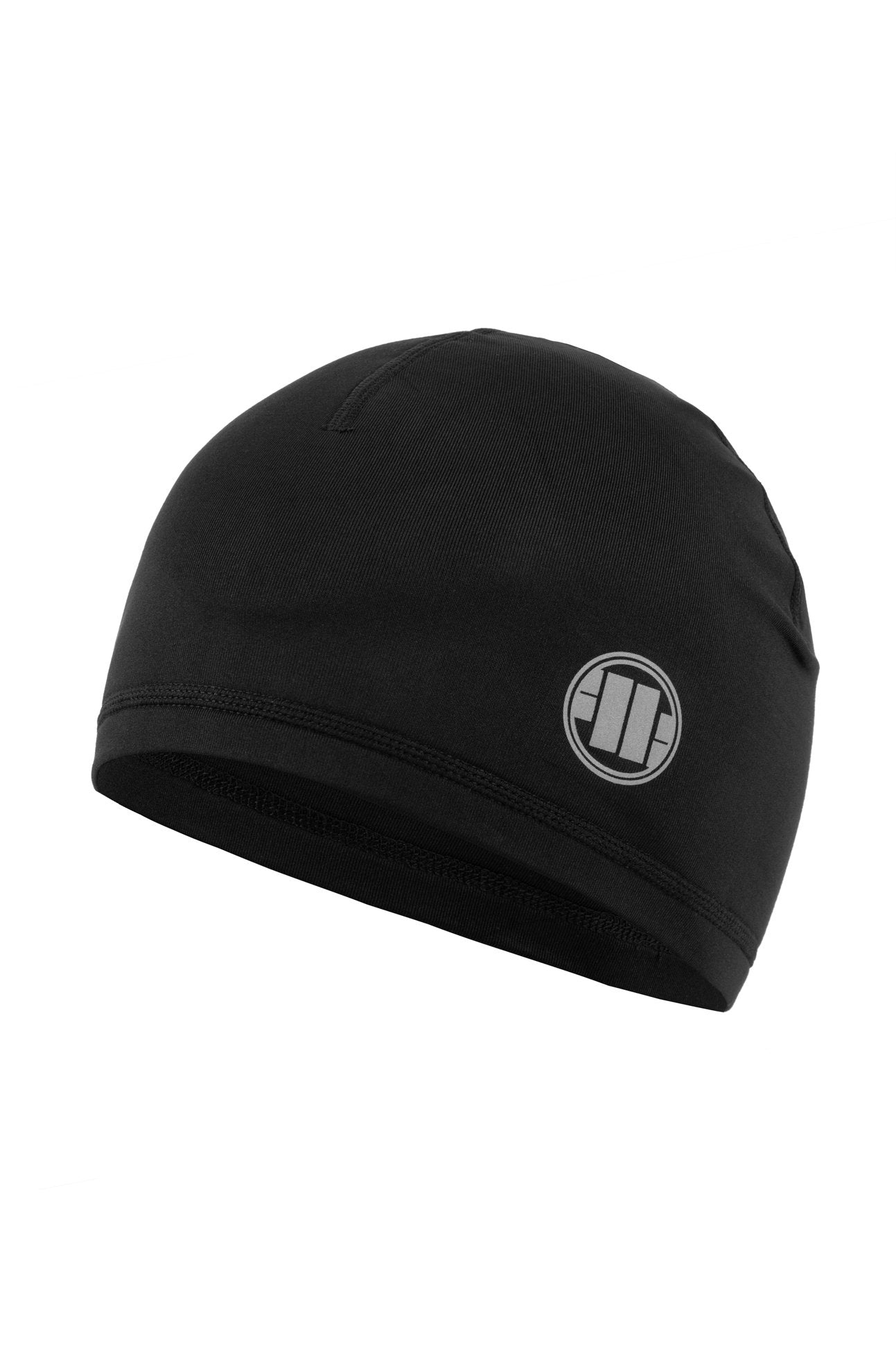SMALL LOGO SPECIAL SPORT COMPRESSION BEANIE BLACK - pitbullwestcoast