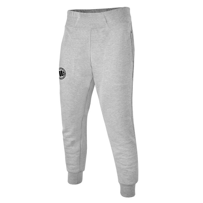 Aladdin Jogging Trousers Logo Grey - pitbullwestcoast