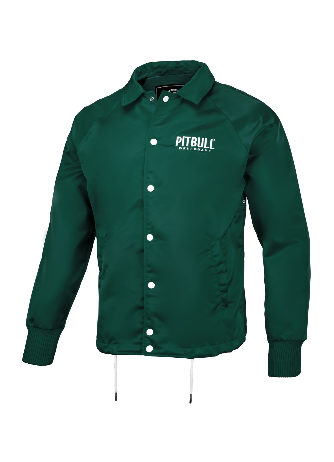 WICK Coach Jacket Green - pitbullwestcoast