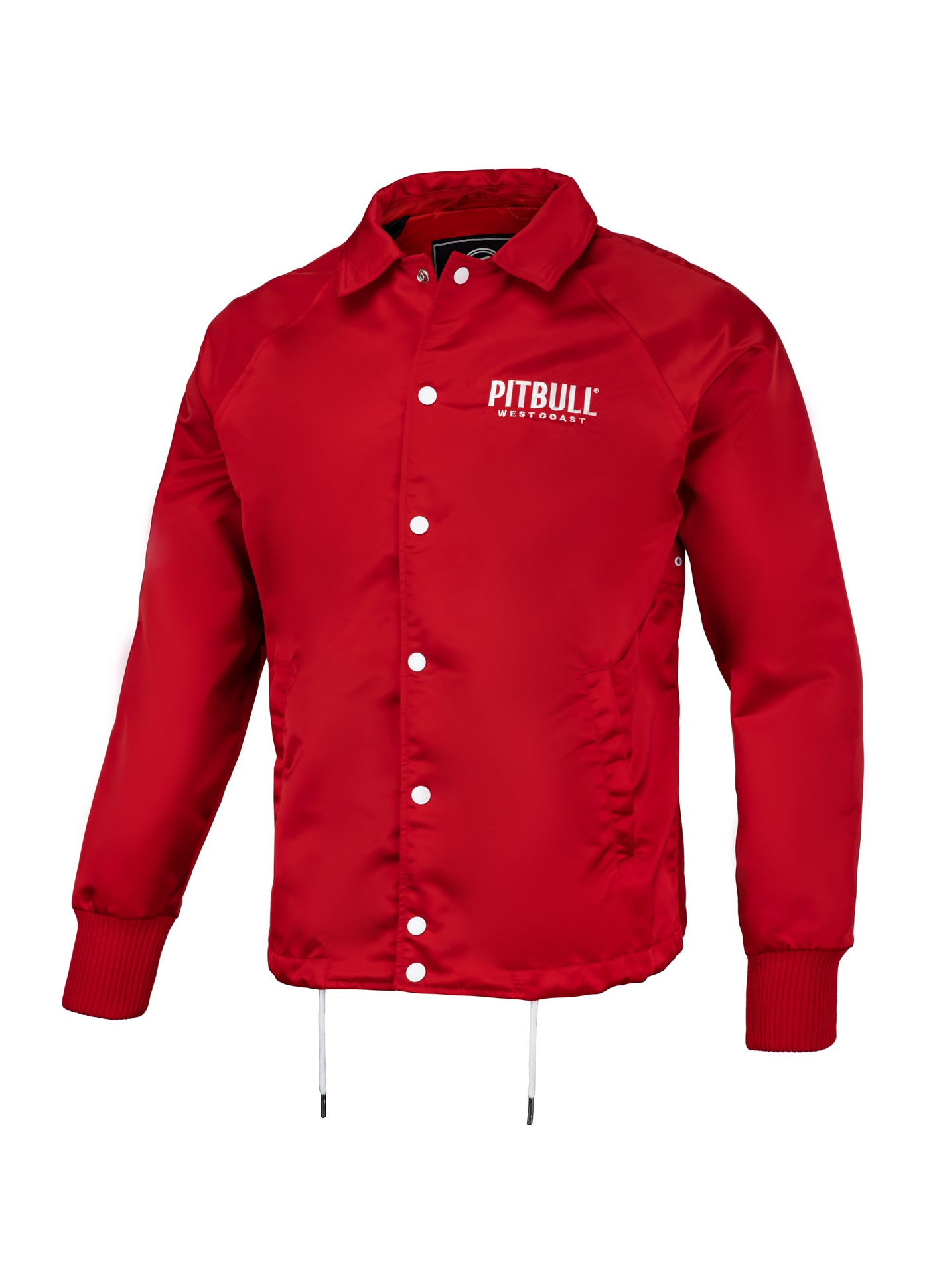 WICK Coach Jacket Red - pitbullwestcoast