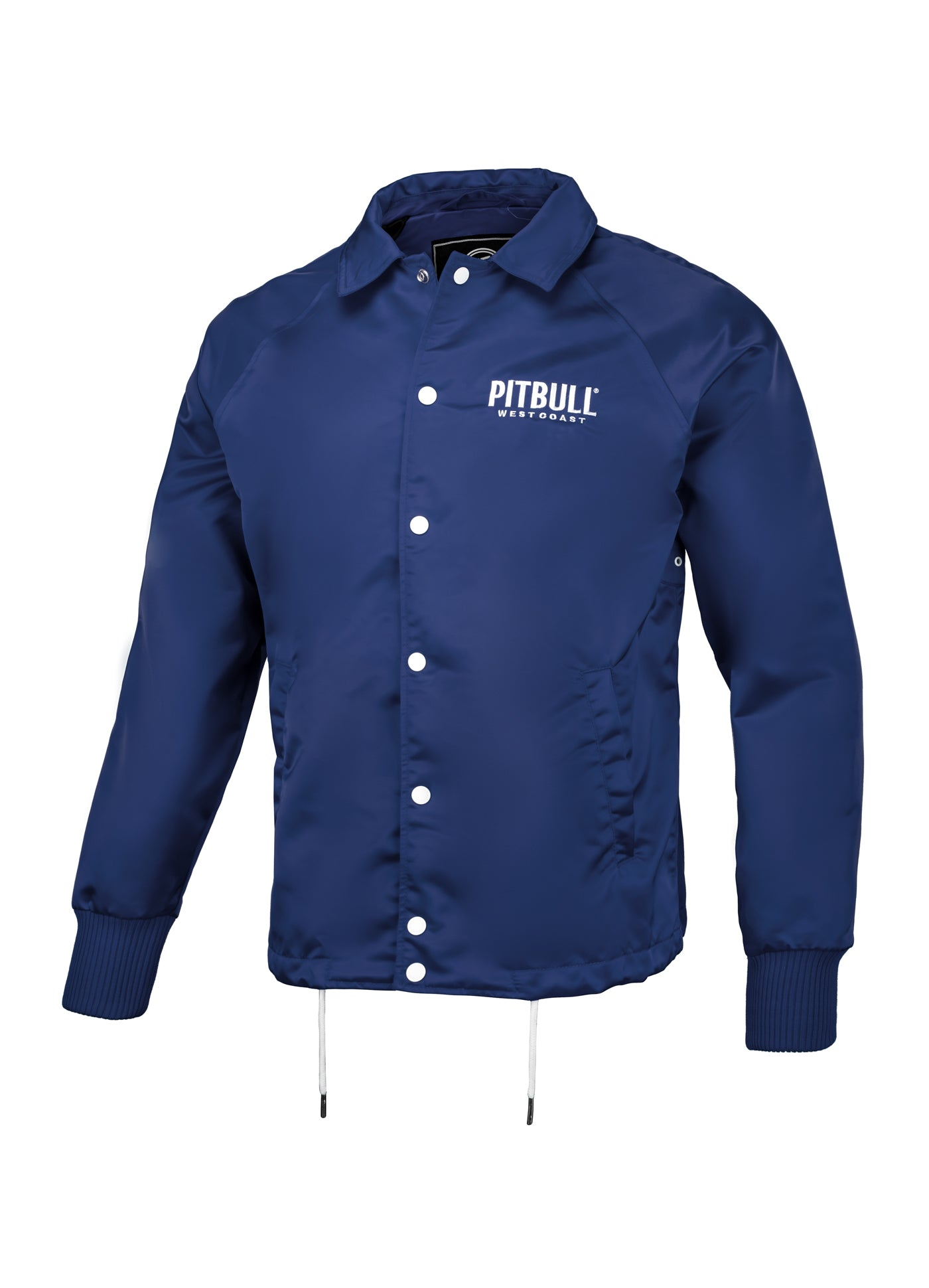 WICK Coach Jacket Navy - pitbullwestcoast