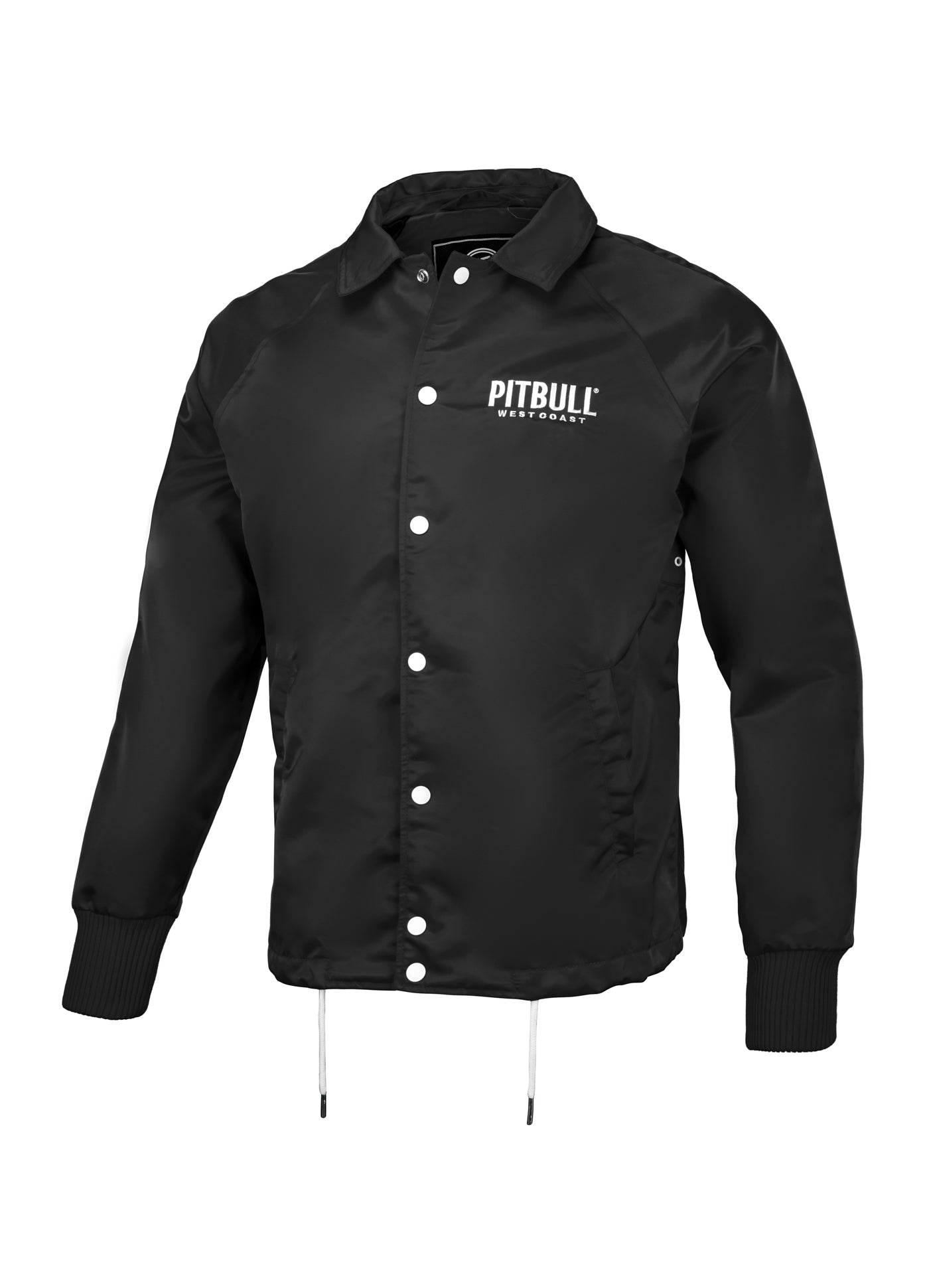 WICK Coach Jacket Black - pitbullwestcoast