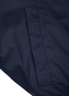 ANGLER Hooded Nylon Jacket Dark Navy - pitbullwestcoast