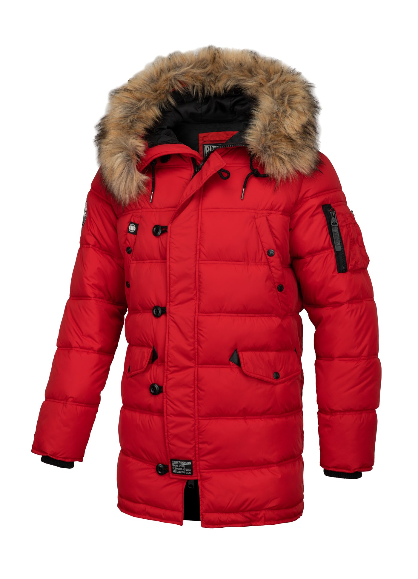 Parka Jacket KINGSTON Red