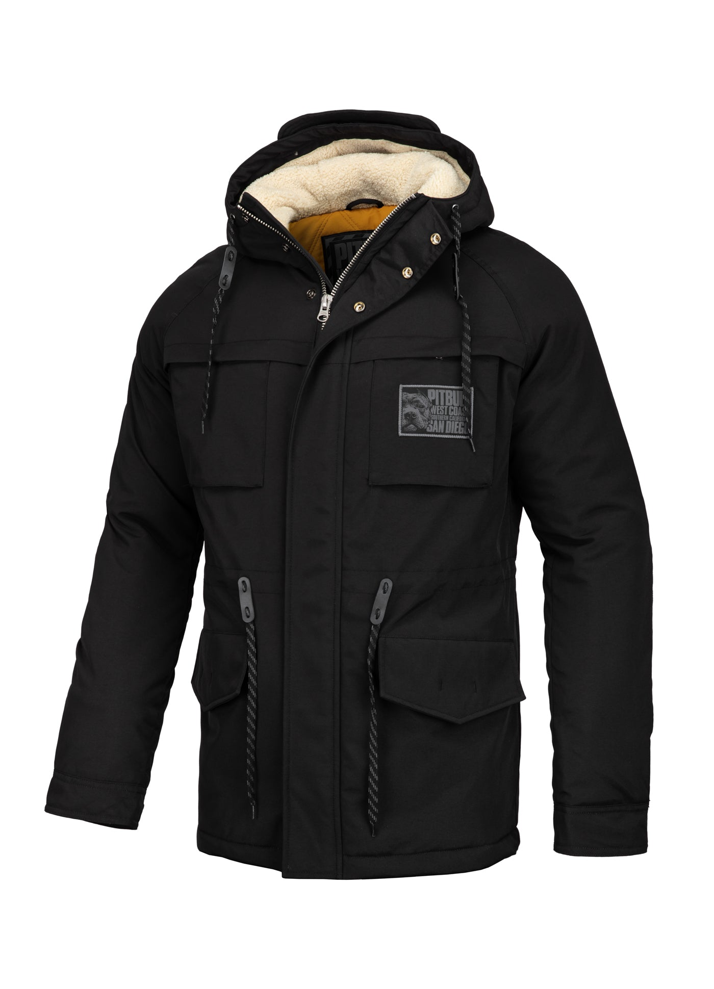 Parka Jacket GUNNER Black