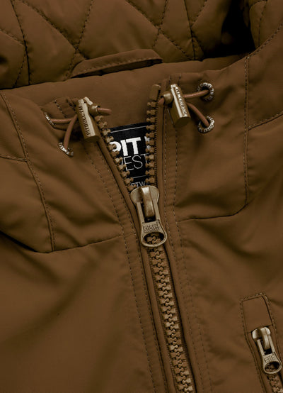 CABRILLO 2019 JACKET BROWN