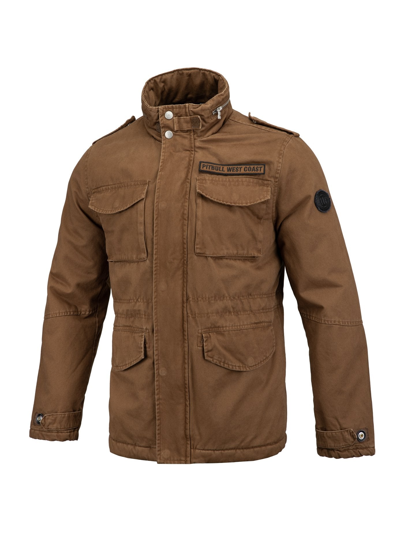 WINTER JACKET MONTEREY BROWN - pitbullwestcoast
