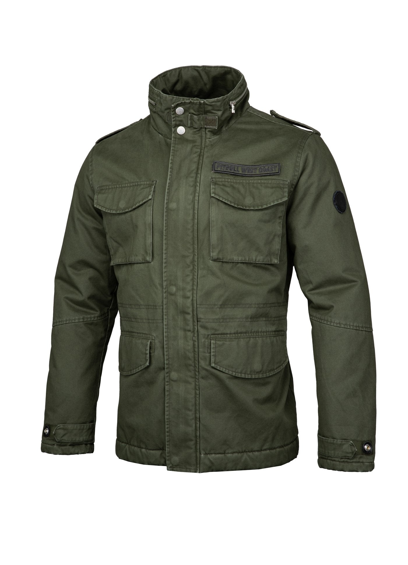 WINTER JACKET MONTEREY OLIVE - pitbullwestcoast