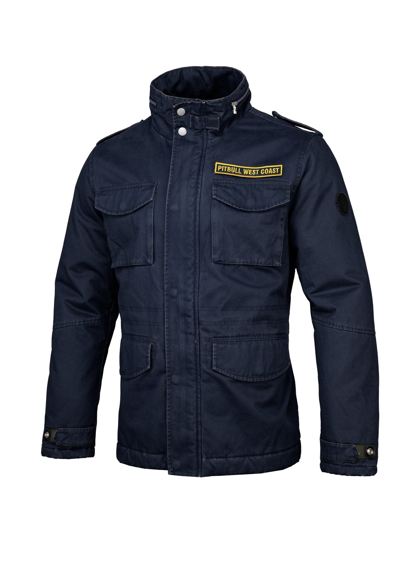WINTER JACKET MONTEREY DARK NAVY - pitbullwestcoast