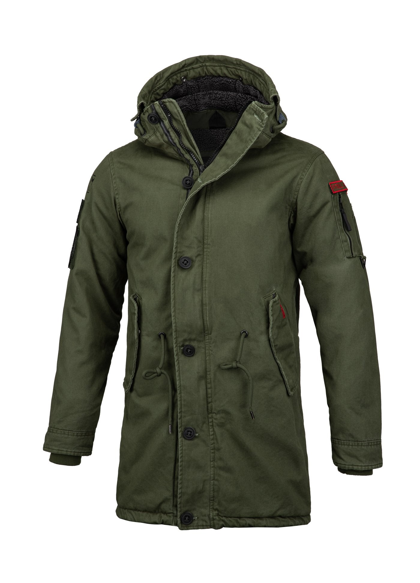 WINTER JACKET HEMLOCK III OLIVE - pitbullwestcoast