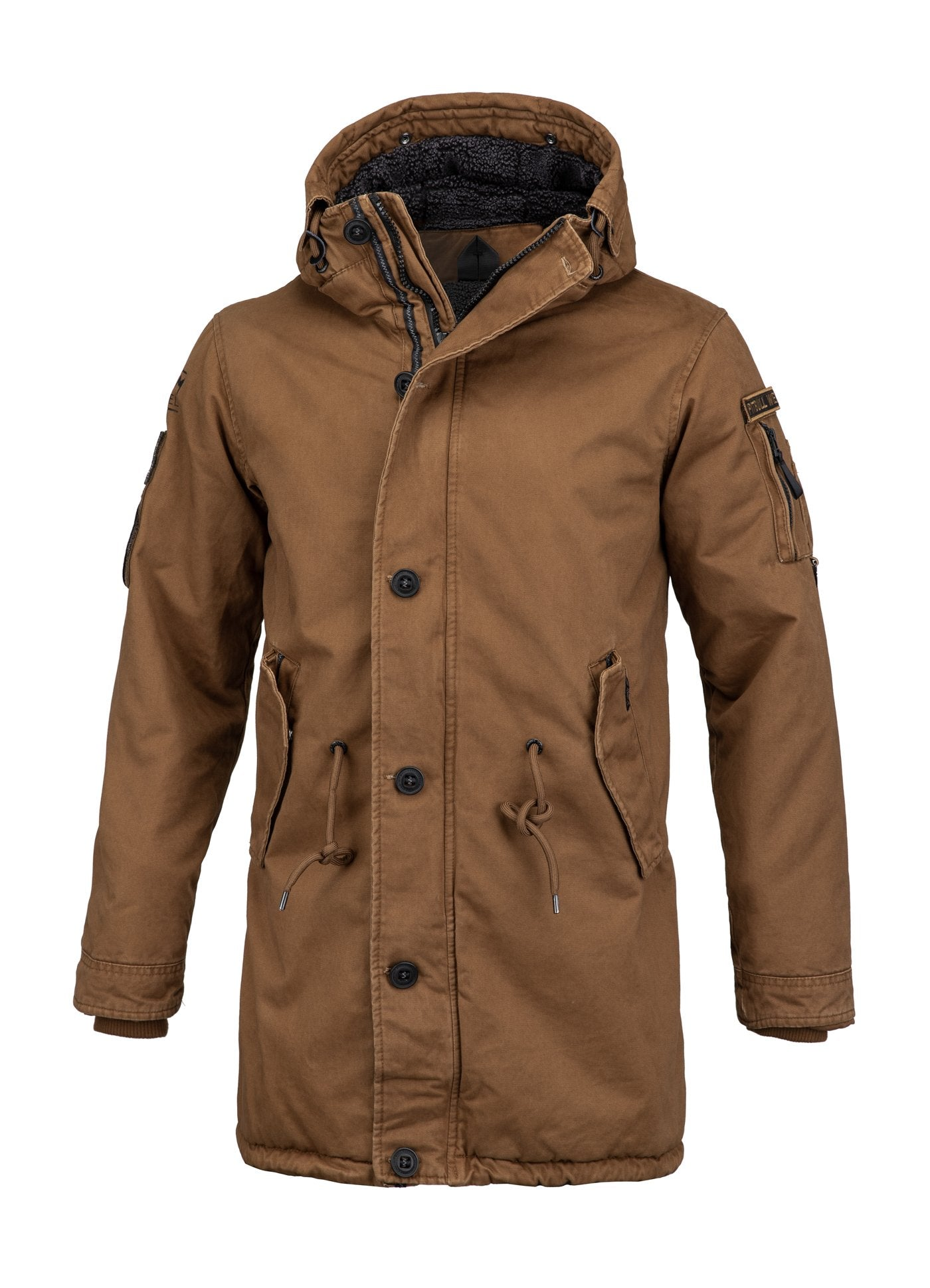 WINTER JACKET HEMLOCK III BROWN - pitbullwestcoast