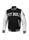 JACKET MELTON WILSON BLACK/WHITE - Pitbull West Coast  UK Store