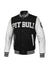 JACKET MELTON WILSON BLACK/WHITE - pitbullwestcoast