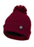 """SMALL LOGO"" Beanie Burgundy - pitbullwestcoast"