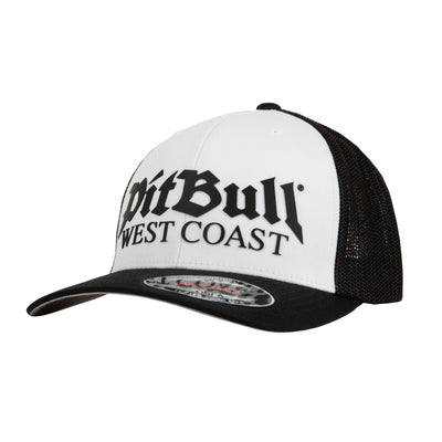 MESH BASEBALL FULL CAP OLD LOGO - pitbullwestcoast