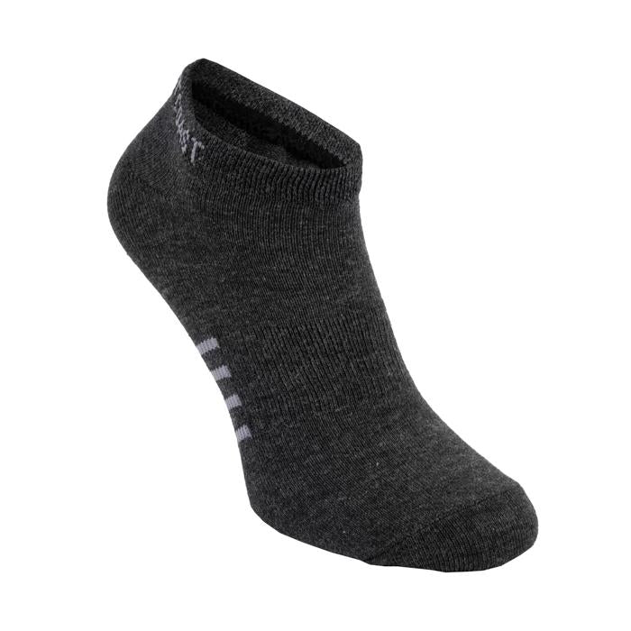 Thin Pad Socks 3pack Charcoal - pitbullwestcoast