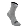 Thin High Ankle TNT Socks 3pack Grey/Charcoal/Black