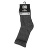 Thin High Ankle TNT Socks 3pack Charcoal