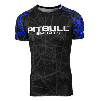 Blue Ray Short Sleeve Rashguard
