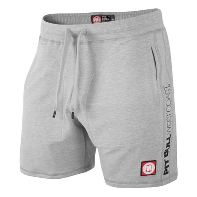 Pitbullsports cotton shorts grey