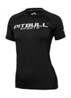 WOMEN RASHGUARD PERFORMANCE MLG Black - pitbullwestcoast