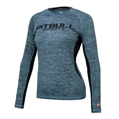pitbull west coast women trainingwear longsleeve rashguard fightwear