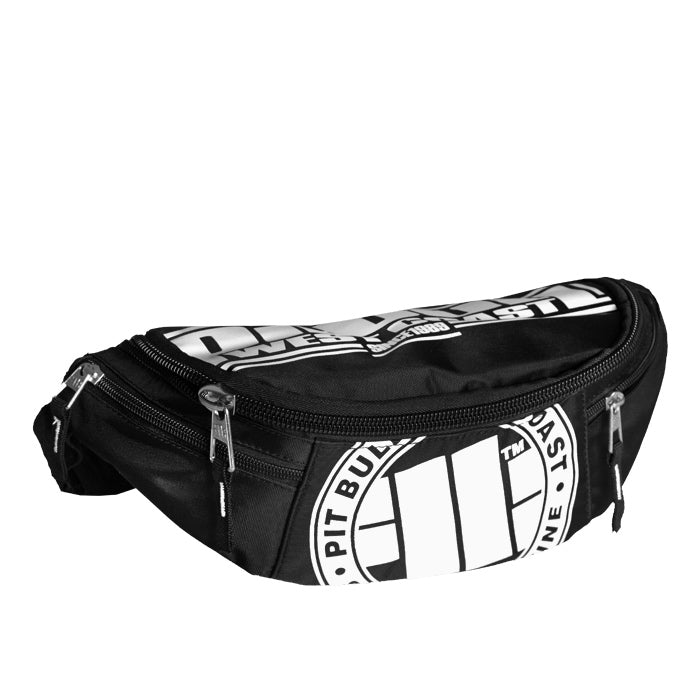 Big Waistbag Logo Black / White
