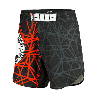 "Grappling Mesh Shorts ""RED RAY"""