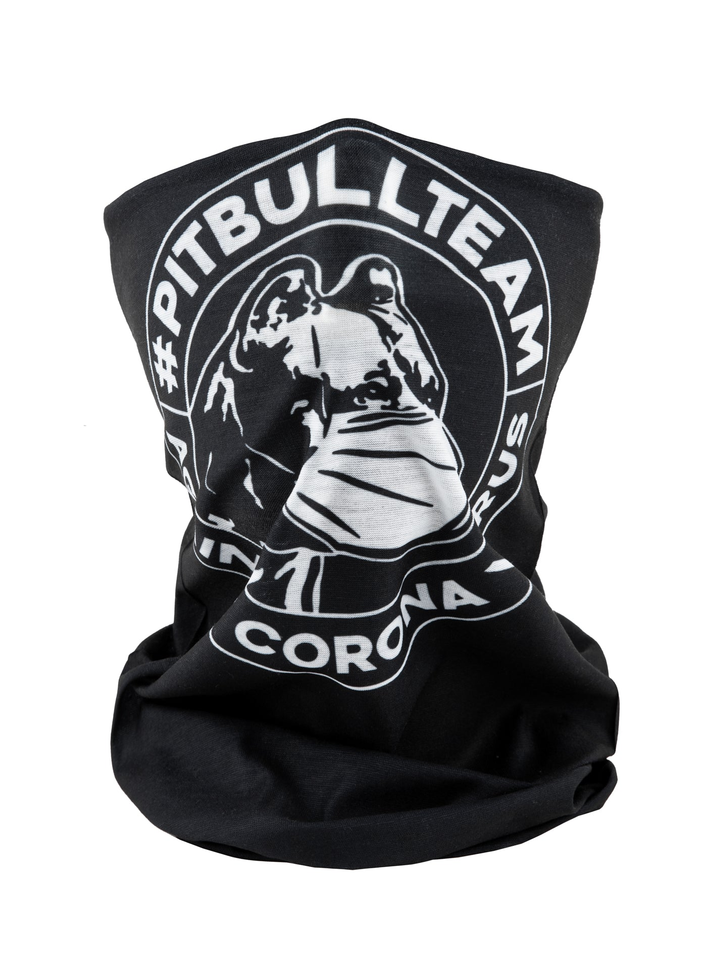 BANDANA #PITBULLTEAM BLACK - pitbullwestcoast