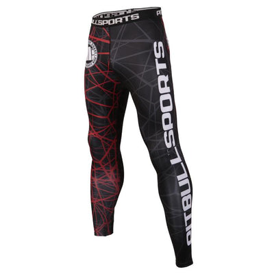 Red Ray Compression Pants