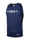TANK TOP COMPRESSION PRO PLUS MLG Dark Navy - pitbullwestcoast