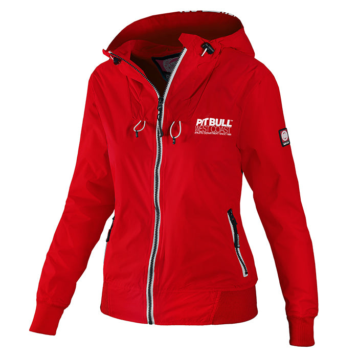 Women Hooded Windbreaker AARICIA 3 - pitbullwestcoast