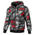 Hooded Jacket Athletic 7 Camo/Blk Red - pitbullwestcoast