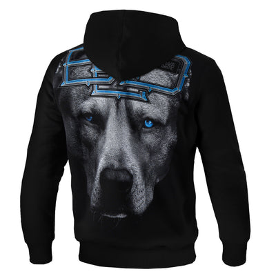 pitbull westcoast hooded blue eyed devil