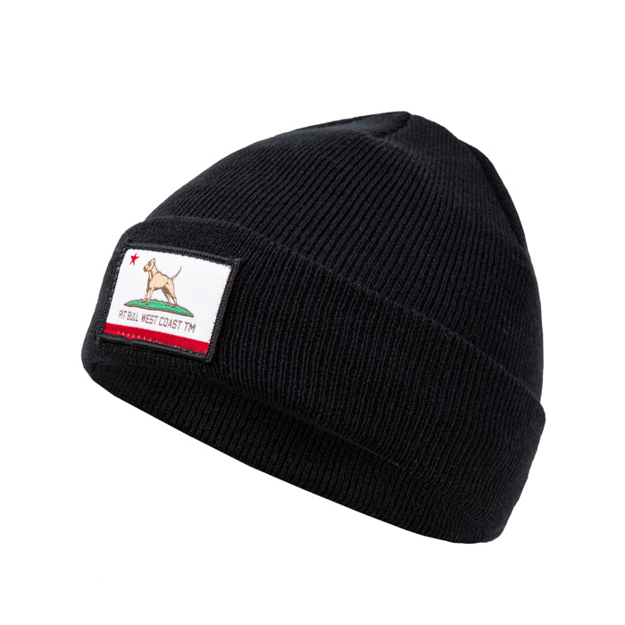 CALIFORNIA DOG Beanie - Pitbull West Coast  UK Store