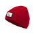 CALIFORNIA DOG Beanie Red - pitbullwestcoast