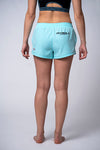 Women Shorts PRO PLUS MLG Turquoise Melange - pitbullwestcoast