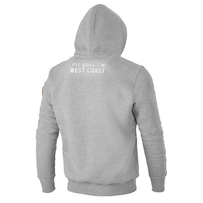 HOODED CALIFORNIA FLAG Grey