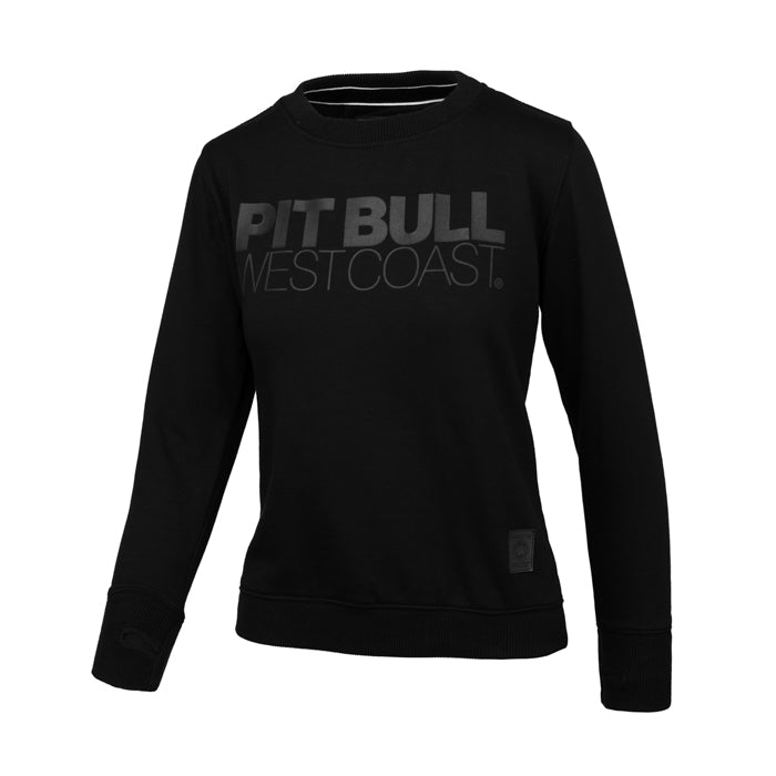 Women SEASCAPE Crewneck Black - pitbullwestcoast