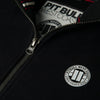 FULL ZIP SMALL LOGO BLACK