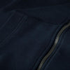 FULL ZIP SMALL LOGO DARK NAVY - pitbullwestcoast