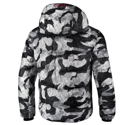 GATLIN Quilted Hooded Jacket Winter Camo