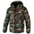 GATLIN Quilted Hooded Jacket Camo - pitbullwestcoast