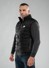 Light Quilted Vest GRANGER Dark Navy - pitbullwestcoast