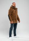 Parka Jacket GUNNER Brown - pitbullwestcoast