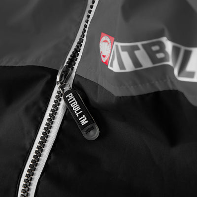 HOMELAND II Hooded Windbreaker Jacket Black