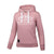 Women OLD SCHOOL Hoodie Pink - pitbullwestcoast