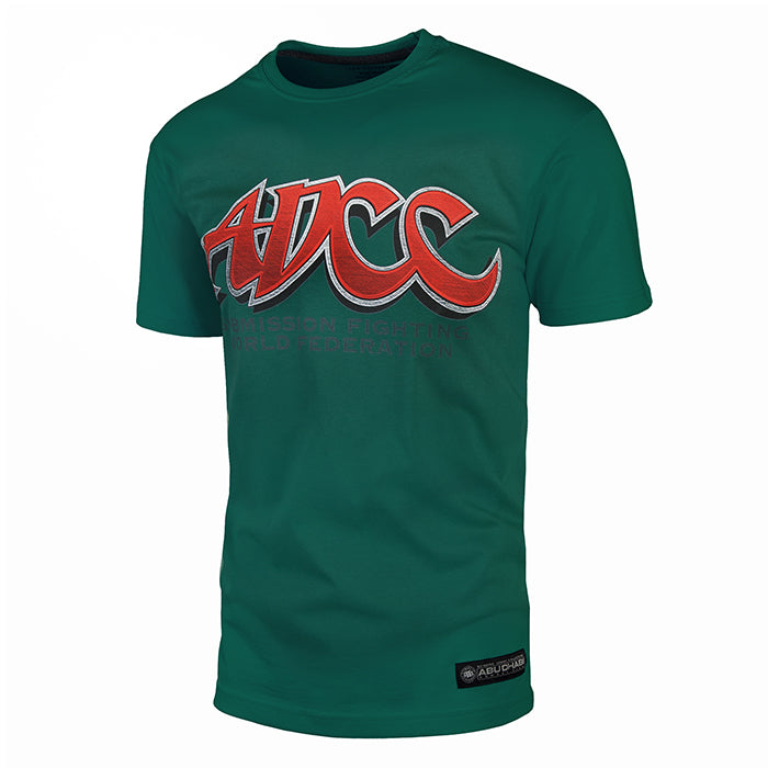 Official ADCC T-Shirt Green - pitbullwestcoast