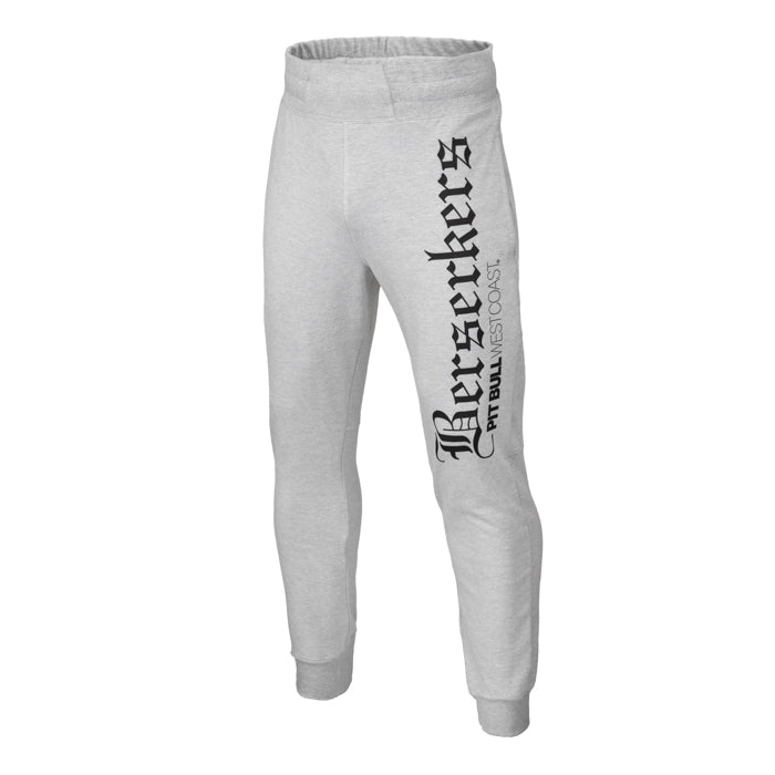 Berserkers Jogging Trousers Slim Fit Grey - pitbullwestcoast