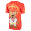 Kids Short Sleeve Rashguard LITTLE PB Red - pitbullwestcoast